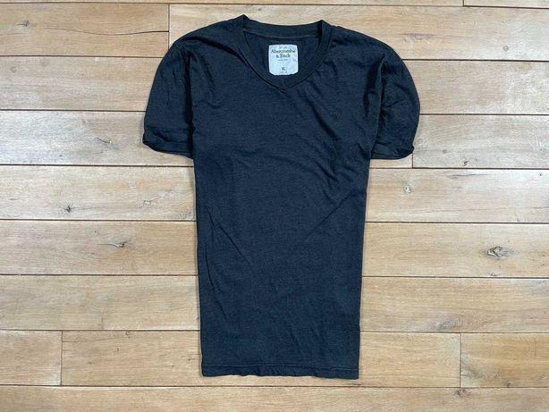 Abercrombie & Fitch tshirt logo unikat L XL