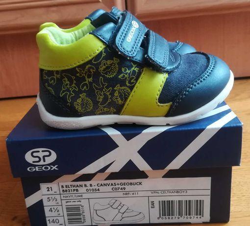 Chłopiece sneakersy Elthan firmy Geox rozm. 21