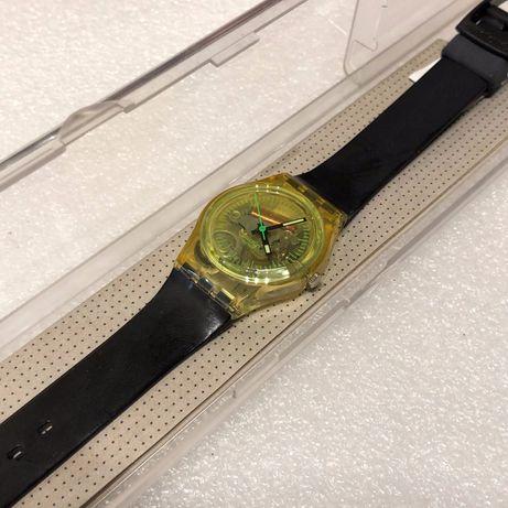 Relógio Swatch LK201, Novo, Nunca Usado na caixa