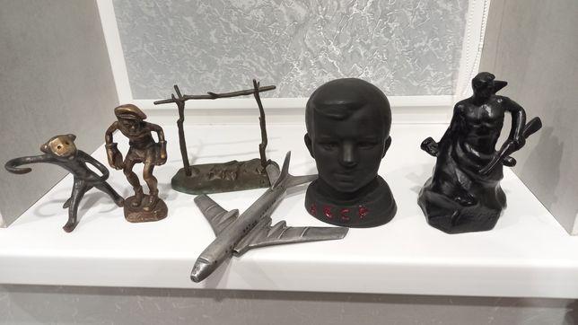 Статуэтка бюст Юрий Гагарин
