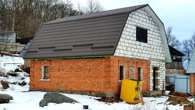 Продам дом на стадии строительства