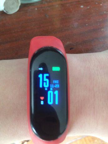 Часы, Фитнес браслет м3