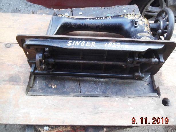 продам швейную машинку SINGER 16K33 1927 г. в. комплектную рабочую