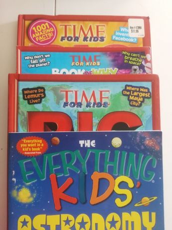 Time for kids, zestaw książek dla dzieci z USA