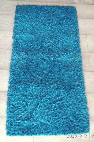 Niebieski Dywanik Lucca 65x125
