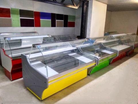 """Холодильные витрины """"Freddo"""" от производителя, новые по цене бу."""