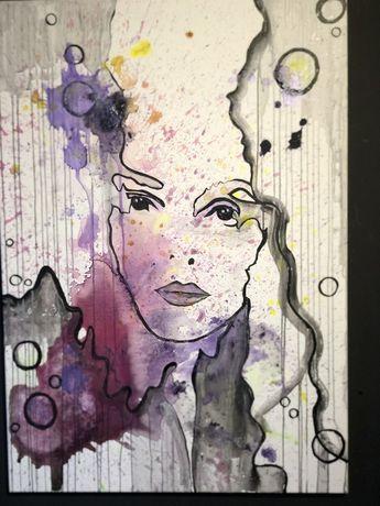 Obraz color woman
