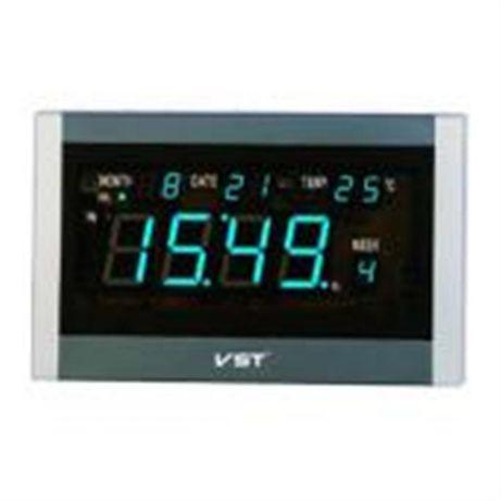 Часы настенные VST 771-Т5 Blue LED+БП+ДУ