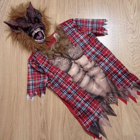 Карнавальный костюм оборотень, монстр волкодав Хеллоуин 11-14 лет іамп