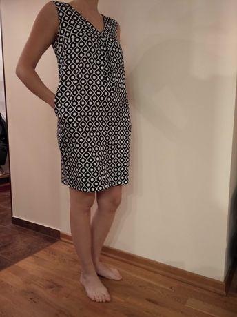 Sukienka biało czarna, Tatuum, rozmiar 36/S, nowa