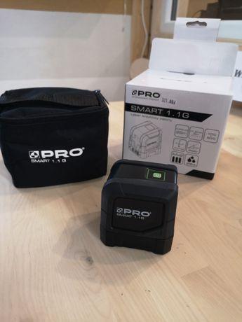 PRO Laser krzyżowy Smart 1.1 zielony samopoziomujący