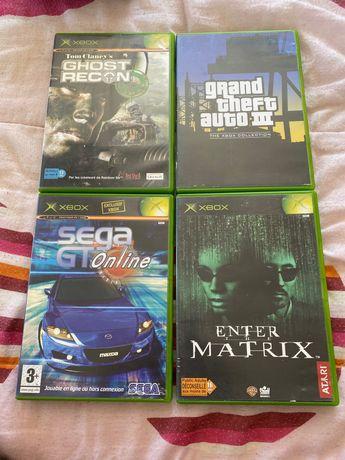 Lote de jogos de Xbox primeira geração