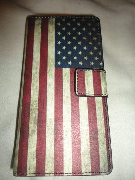 Bolsa Em Livro Bandeira USA Huawei G6