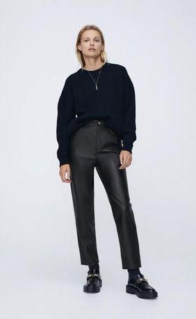 Штани із екокожі Zara