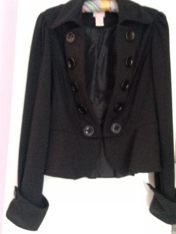 Żakiet czarny w rozmiarze XL