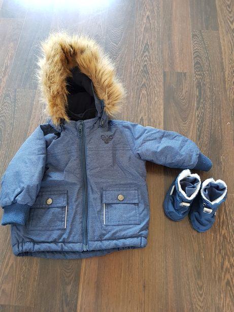 Kurtka firmy hummel chłopieca r 74 6- 9 mies jesień zima