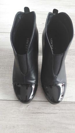 Botki damskie czarne Vinceza r. 37