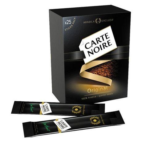 Кофе в пакетиках стиках Carte Noire растворимый распродажа карт нуар