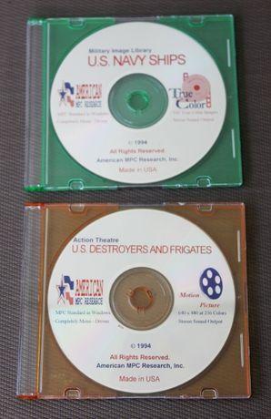 Colecção de 02 CD sobre navios de guerra norte-americanos