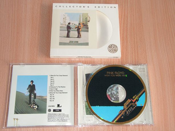 Pink Floyd - Wish You Were Here CK 64405 Mastersound slipcase GOLD