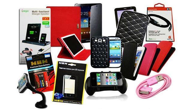 Ремонт телефонов и другой техники; продажа аксессуаров.