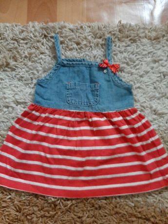 Платье на 9-12 месяцев