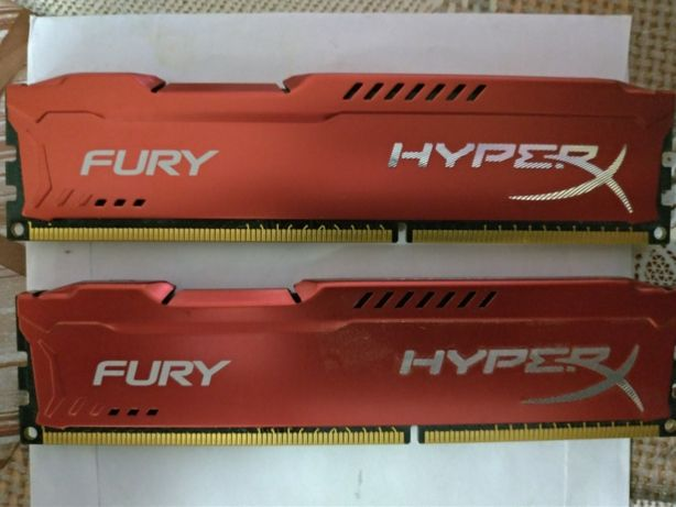 Kingston hyperx fury 8gb DDR3 - 1866 Mhz