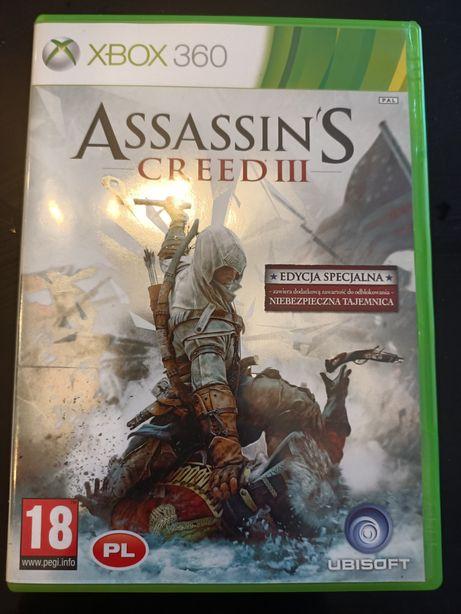 Assassin's Creed 3 III PL Xbox 360