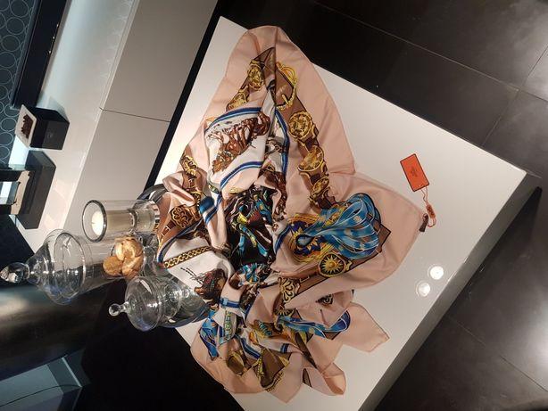 Chusta jedwabna Hermès