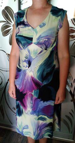 Летнее платье 50-52 размер