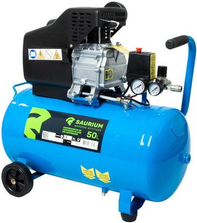 Compressor de Ar Elétrico 50L - 2HP
