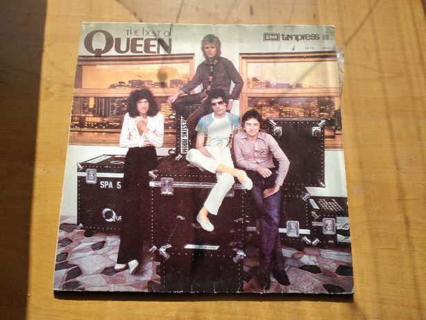 Płyta winylowa stary winyl The best of Queen 1980