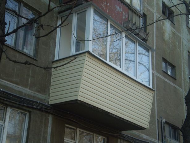 Балкон под ключ от 15 тыс. грн