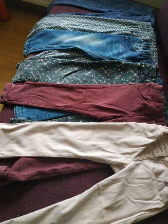 Spodnie 104-116 dla dziewczynki
