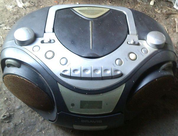 Магнитола Bravis CD-56-MP 3,б/у
