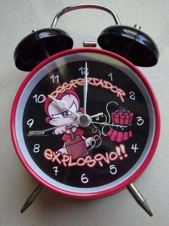 Relógio Despertador semi-novo