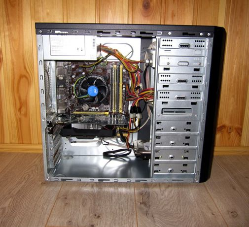 Компьютер игровой, работы и игр Asus i3-4330/6gb/INNO3D