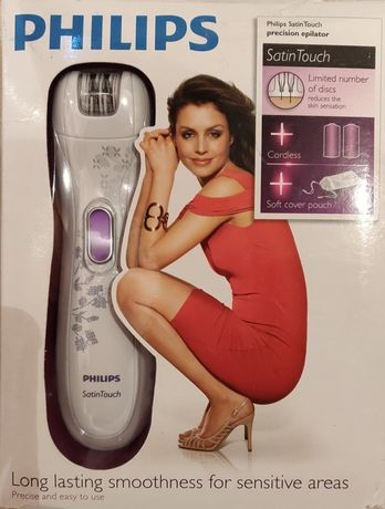 Satin touch Philips nowy depilator