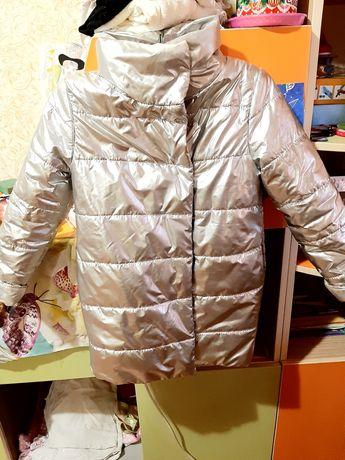 Удлененная осенне-весенняя курточка