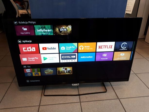 Telewizor LED Philips 40 cali ANDROID – Wi-Fi Smart