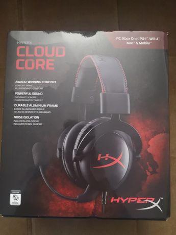 Sluchawki HyperX Cloud Core do konsoli, Pc lub laptop