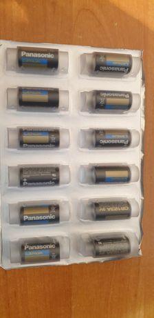 2x Bateria litowa Panasonic CR123A 3V 1400mAh
