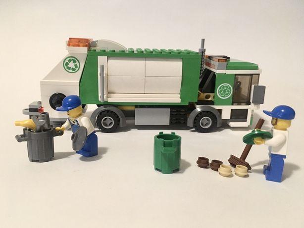 Lego City 4432 Garbage Truck. Оригинал Лего мусоровоз