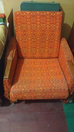 Кресло мягкое бу