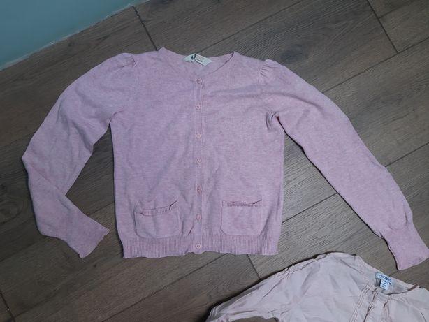 Sweterek H&M Koszula Pudrowa Okaïdi 122 /128 cm