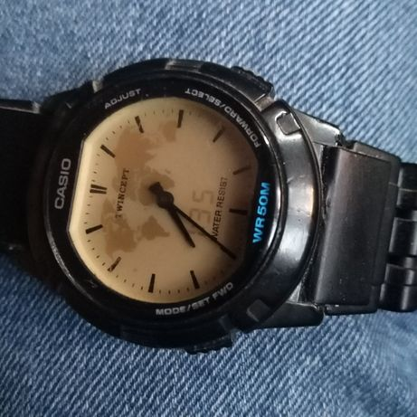 CASIO ABX-20 TWINCEPT zabytkowy sportowy zegarek