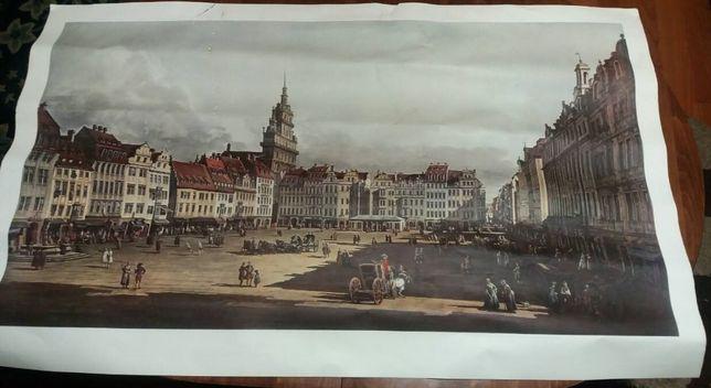 """Картина з Дрезден Цвингер:Bernardo Bellotto, """"Der Altmarkt zu Dresden"""""""