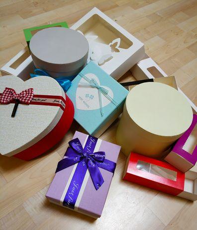 Разные Подарочные Коробки! Шляпные, квадратные, прямоугольные макаронс