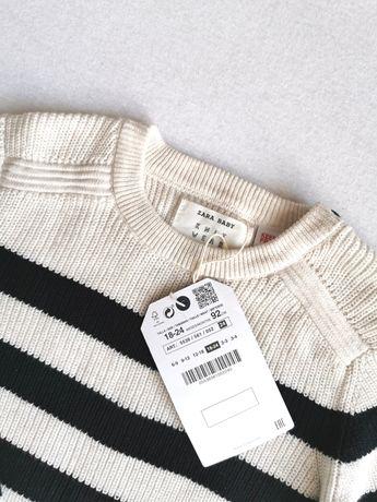NOWY sweter ZARA 92