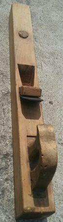 Duży kolekcjonerski strug drewniany do drewna PRL